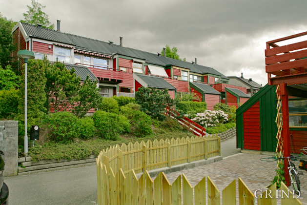 Rekkehus Flaktveit (Knut Strand)