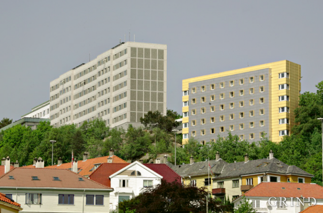Hatleberg studentby (Knut Strand)