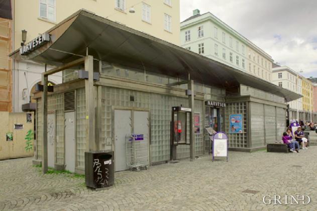 Kiosk Torgallmenningen (Knut Strand)