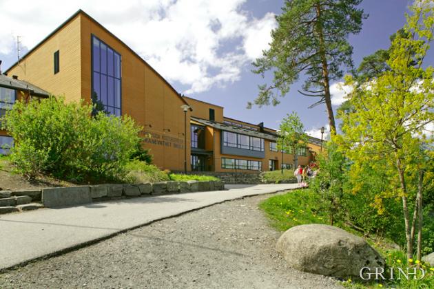 Skranevatnet skole og Ytrebygda kulturhus (Knut Strand)