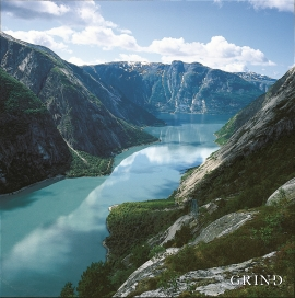 Fra Kjeåsen mot Simadalsfjorden