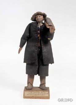 Fiskar frå «Sunds Præstegield», figur av Jørgen Garnaas