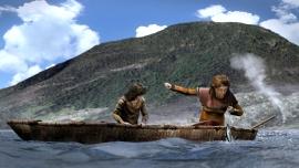 I eldre steinalder vart det meste av fisken fanga i sjøen utanfor hellerane.