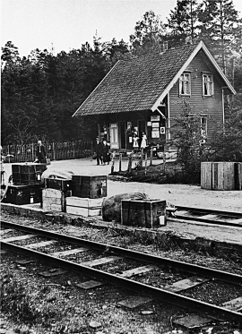 Ulven station, Os railway.