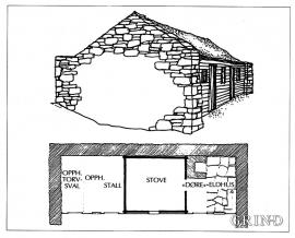 Sketch Øvre Tveiten, Radøy