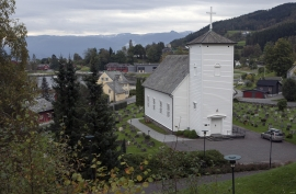 Vikøy church