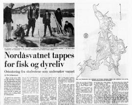 Faksimile fra Bergens Tidende,1970