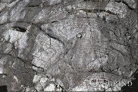 Pahoehoe-lava.