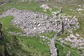 Stone blocks at Løno
