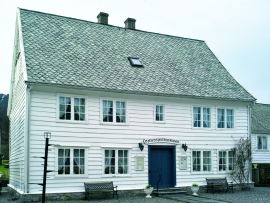 The lodging house in Skånevik, Etne