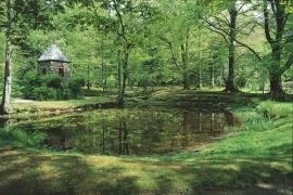 Paddedammen og lysthuset, Baroniet Rosendal