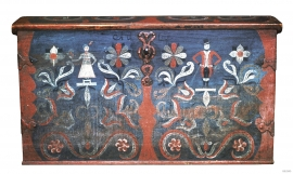 Chest from Mauranger, Kvinnherad