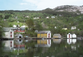 Holmefjord and Bogøya are the core centres for the coopering trade in Fusa.