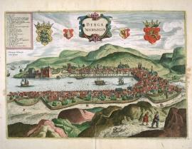 Utsnittet av Scholeus-stikket fra 1580-årene