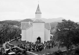 Strusshamn kirke, Askøy