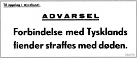 Advarselskilt