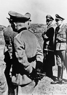 Josef Terboven i Telavåg 30. april 1942