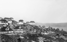 Workers' dwellings in Knarrevik., Fjell