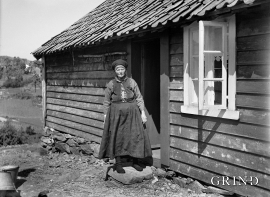 Strilekone. Foto kring 1920