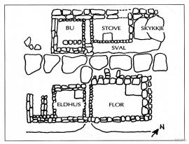 Floor plan Høybøen