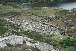 Excavation of long house sites, Høybøen