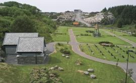 Kyrkjegarden i Blomvåg