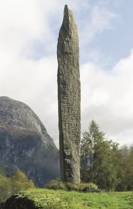 Bautastein på Stalheim, til minne om Per Sivle