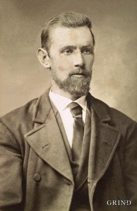 Portrett av Jakob Alvsåker