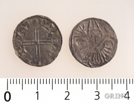 Two of the coins from Måge
