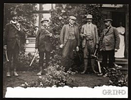 Hans Reusch og kollegaer.