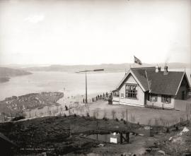 Fløystangen ved Fløistuen i Bergen kring 1890