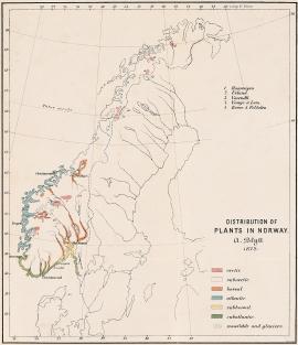 Norges første plantegeografiske kart