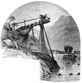 Laksegiljene langs Sørfjorden og Veafjorden