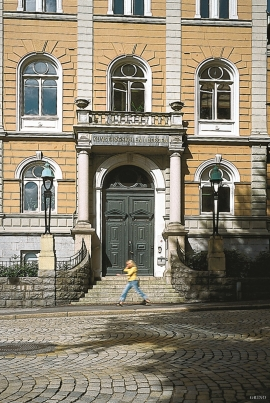 Bergen technical school, now the  Faculty of Fine Art, Music and Design