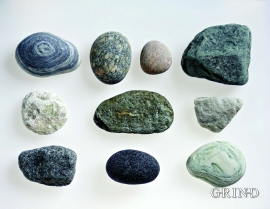 The most common rock types in Hordaland.