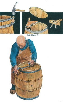 Bøkring, illustrasjon