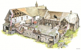 Lyse Monastery, reconstruction