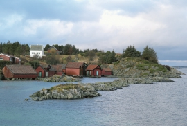 The marine use environment on Krossøy, Austrheim