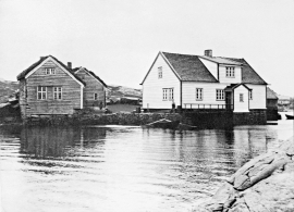 Kræmmerholmen photographed in early 1900.