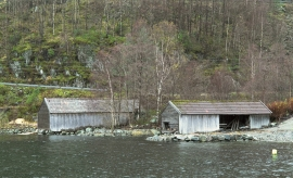 The saws at Mollandseid, Masfjorden