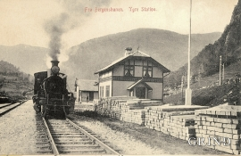 Ygre Station around 1920.