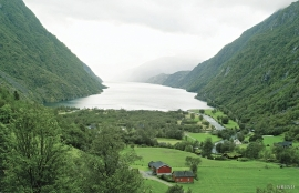 Osa and the Osa fjord