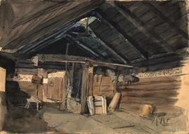 Smokehouse in Vikøy