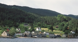 The boathouses at Svåsand.