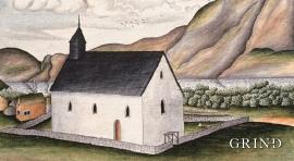 Eidfjord church.