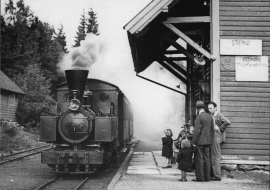 Stend station in 1935