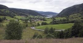 Mjelddalen towards Sørfjorden