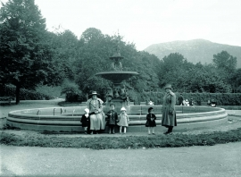 Nygårdsparken in the 1920s.