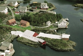The lobster park in Espevær