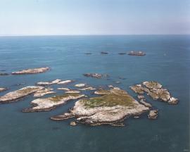 Innarsøyane toward Holmengrå.